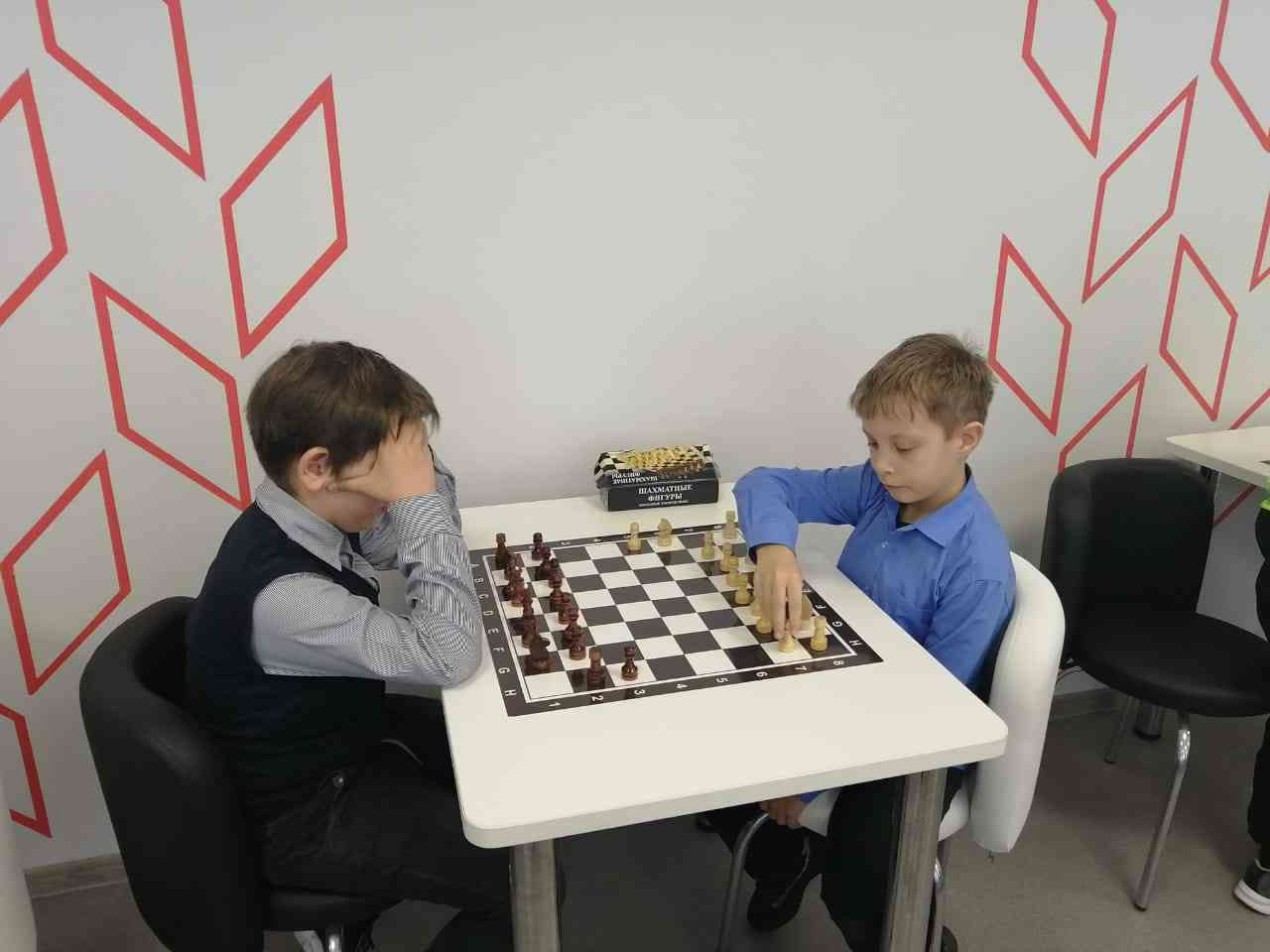занятия по шахматам